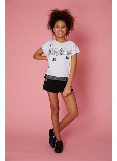 Little Star Little Star Kız Çocuk Newyork Body Beyaz